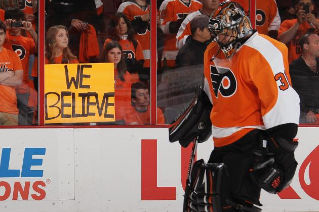 Flyers Goalie Bryzgalov: 'I'm Skinny and Prepared'