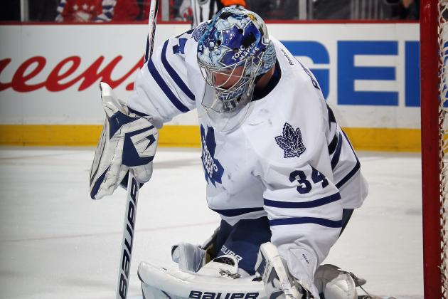 Maple Leafs Goalie James Reimer 'Feels Strong'