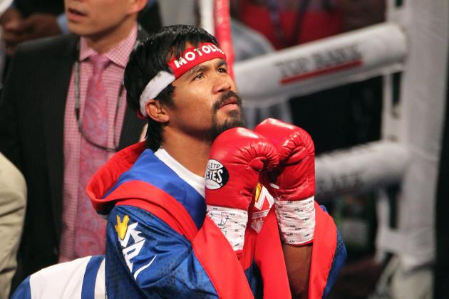 Manny Pacquiao: Why He Shouldn't Be Rated No. 2 in Ring Magazine