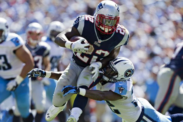 Stevan Ridley Puts Backfield in Motion for Tom Brady and New England Patriots