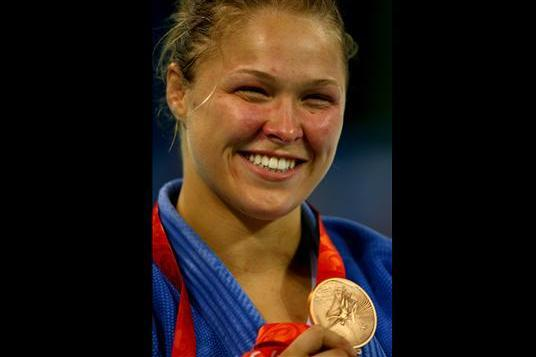 Can Ronda Rousey Be the Michael Phelps for Women's MMA?