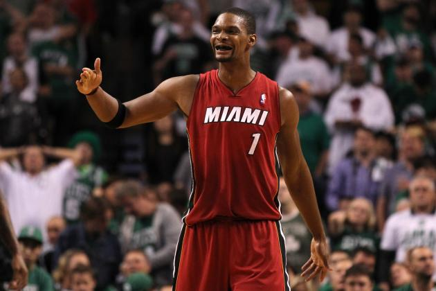 What Chris Bosh Bulking Up to Play Center Means for Miami Heat