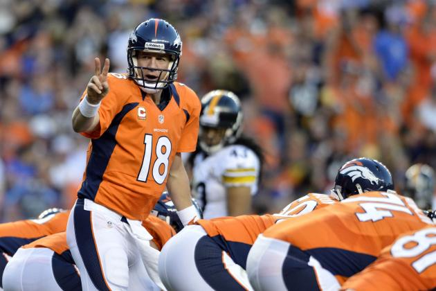 Breaking Down Peyton Manning's Performance Against the Steelers