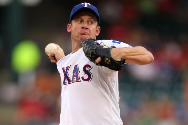 Roy Oswalt Taking Time off for Strained Right Forearm