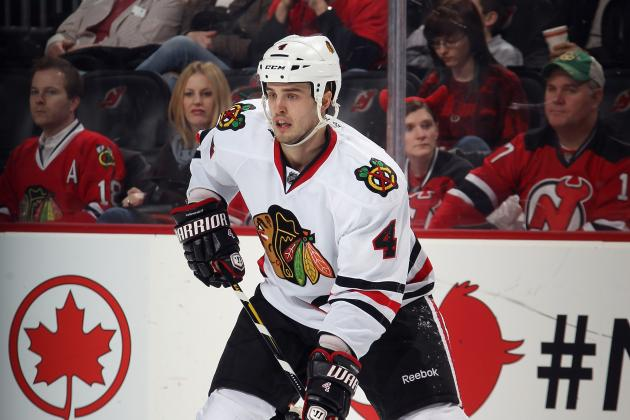 Chicago Blackhawks: Signing Michal Rozstival May Signal Impending Departure on D