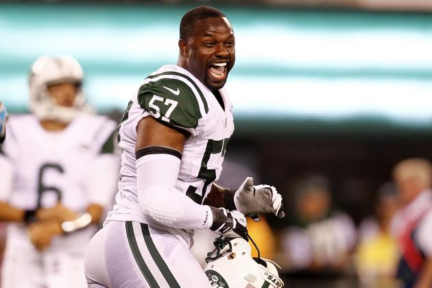 Bart Scott Up, Demario Davis Down for New York Jets and More AFC East News