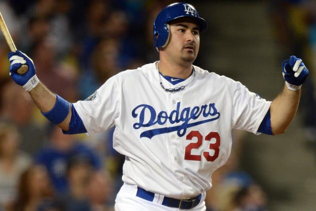 Adrian Gonzalez Ripped by L.A. Columnist for Lack of Passion