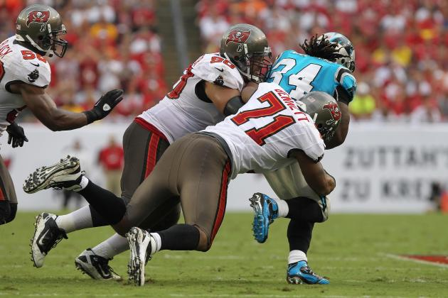 Carolina Panthers Offensive Line Needs to Block out Pitiful Week 1 Performance
