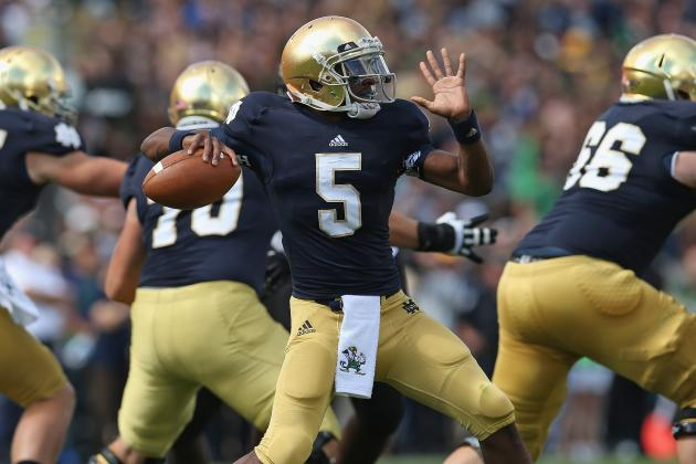 College Football Rankings 2012: Top Teams That Will Stumble on Saturday