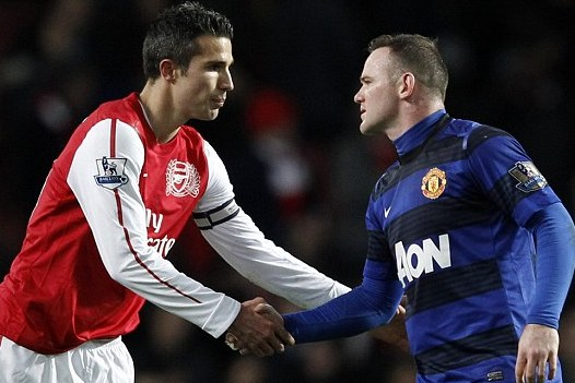 Getting the Best from Wayne Rooney and Robin Van Persie in the Same Starting XI