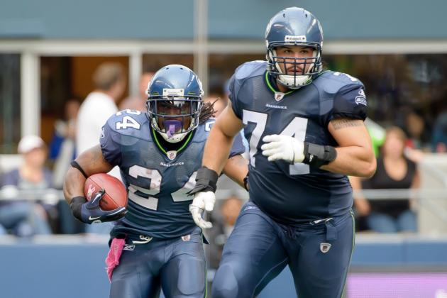 J.R. Sweezy Back to Seattle Seahawks Bench as John Moffitt Returns
