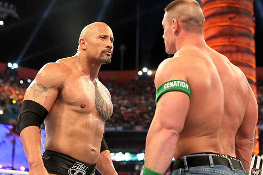 WWE News: Surprising Photos of The Rock and John Cena Hugging