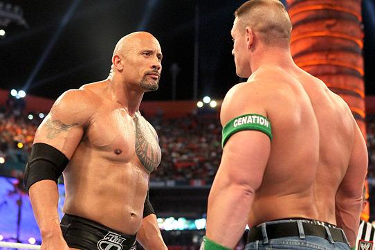 WWE News: Surprising Photos of The Rock and John Cena Hugging