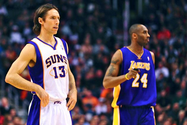 How Kobe Bryant Must Adjust His Game to Complement Steve Nash's PG Skills
