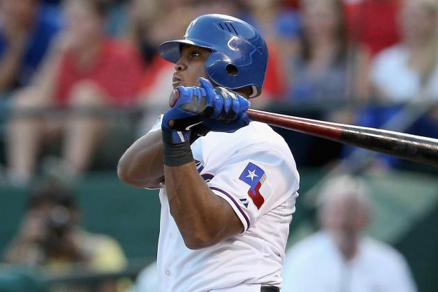 Beltre Leaves with Shoulder Injury