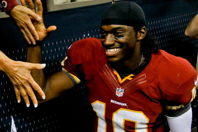 With RGIII at QB, Washington Redskins Are No Longer the Laughingstock of the NFL