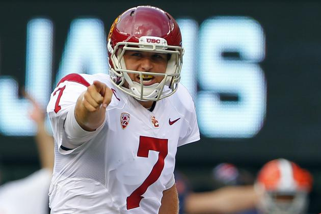 Matt Barkley, USC (-8); Matt Stafford, Lions (+7); Two Bets You Can