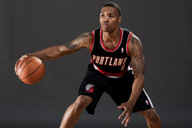 Damian Lillard Talks to B/R About 2012-13 Season, Expectations and Rookie Year