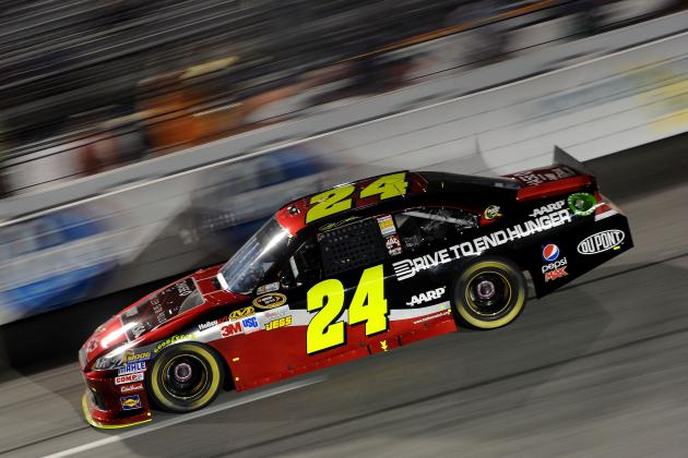 Jeff Gordon Rides Miraculous Richmond Performance into Chase