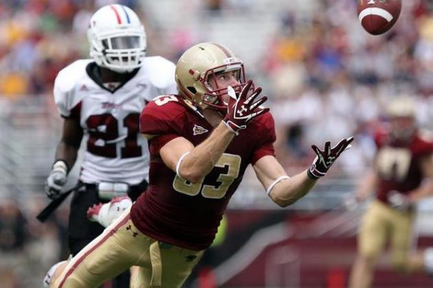 Junior WR Alex Amidon Having Breakout Year for Boston College Eagles