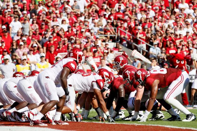 College Football Week 3 TV Schedule: Where to Watch Top Games This Weekend