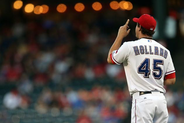 Ks Are Nice, but Rangers Pitcher Derek Holland Prefers No Walks