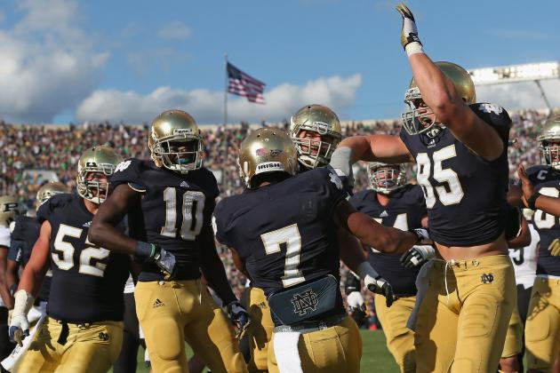 Notre Dame Is Not a Top 25 Team, and Here's Why