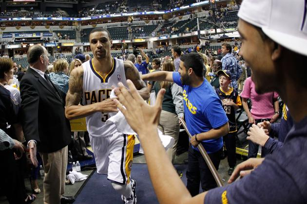 George Hill Has to Be the Answer to the Indiana Pacers' Point Guard Struggles