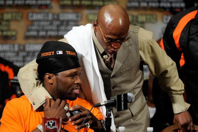 Floyd Mayweather Jr. and 50 Cent: It looks like TMT is Officially Done
