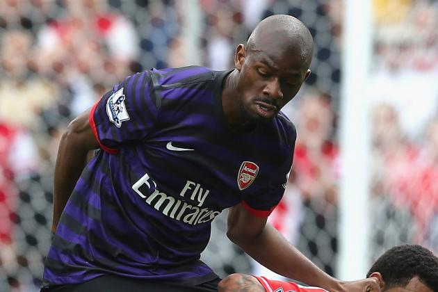 Arsenal's Arsene Wenger Plays Down Fears over Abou Diaby's Injury