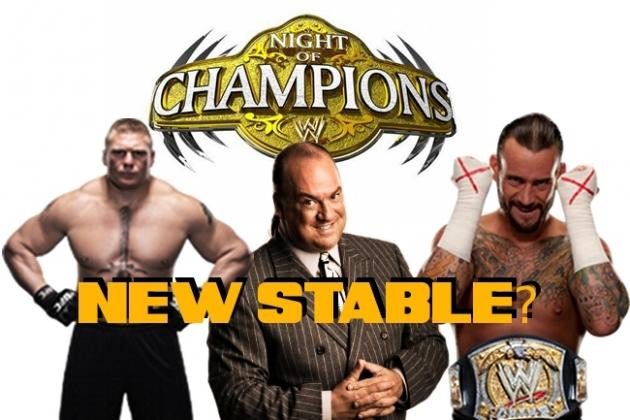 WWE Night of Champions 2012: Why CM Punk and Paul Heyman Should Build a Stable
