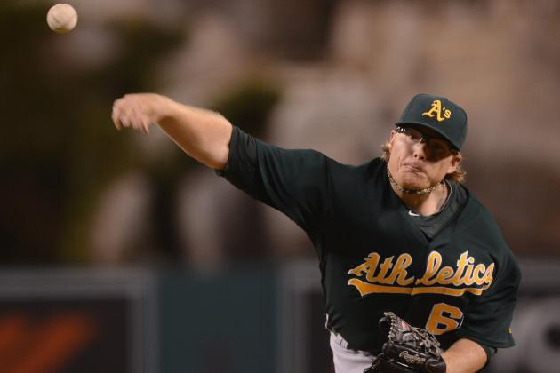 Oakland Athletics' A.J. Griffin: Most Underrated Pitcher in MLB