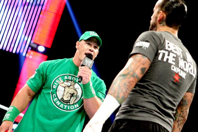 WWE Night of Champions 2012: Would CM Punk Be on Top If It Wasn't for John Cena?