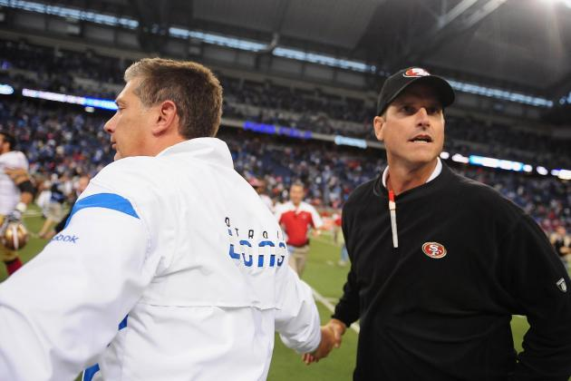 Jim Schwartz and Jim Harbaugh Reunion: Post-Game 2