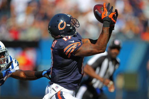 Alshon Jeffery: Bears Rookie WR Should Not Be a Fantasy Starter vs. Packers