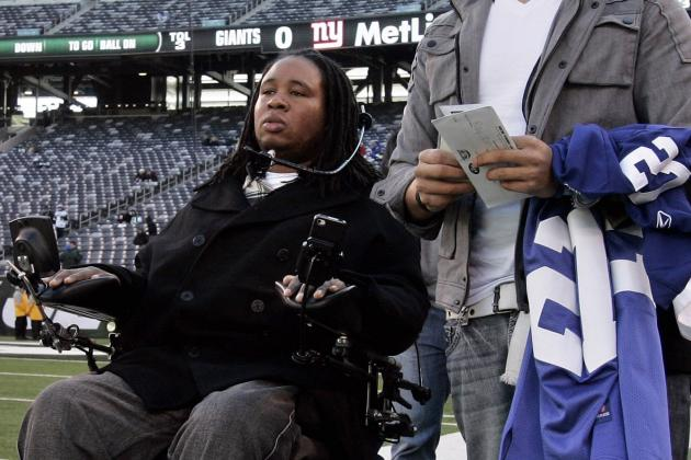 New York Giants Show Tremendous Class Asking Eric LeGrand for Sunday's Coin Toss