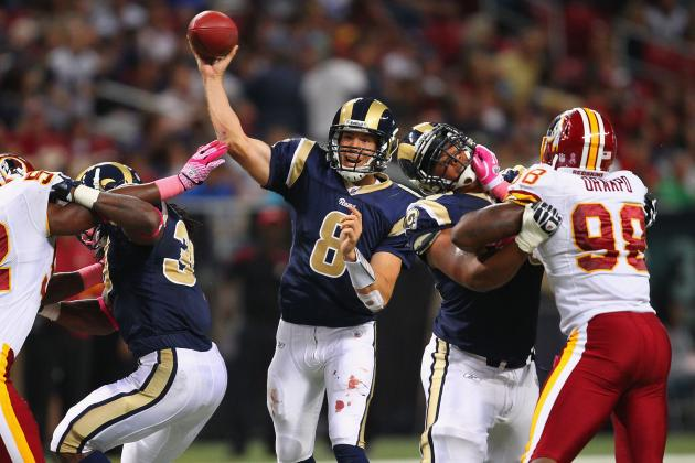 Redskins vs. Rams: Sketching out a  Game Plan for St. Louis