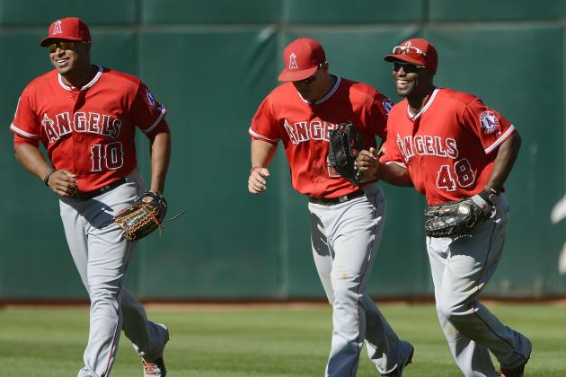 Hunter Touts Trout as Gold Glove Candidate