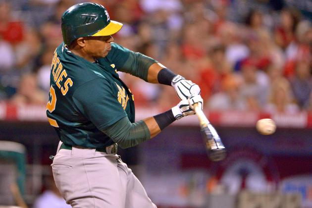 Yoenis Cespedes Injury: Updates on Athletics OF's Wrist