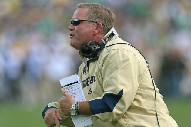 Notre Dame Football: Keys to Pulling off Upset vs. Michigan State