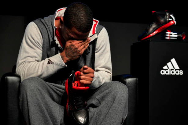 D-Rose Bursts Into Tears at Shoe Release