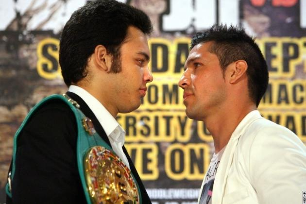 Sergio Martinez vs. Julio Cesar Chavez Jr.: Middleweight War Live from Las Vegas