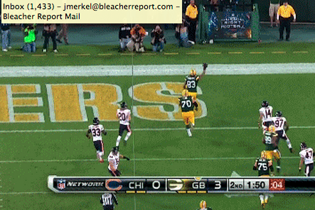 Packers' Fake FG Goes for a Touchdown