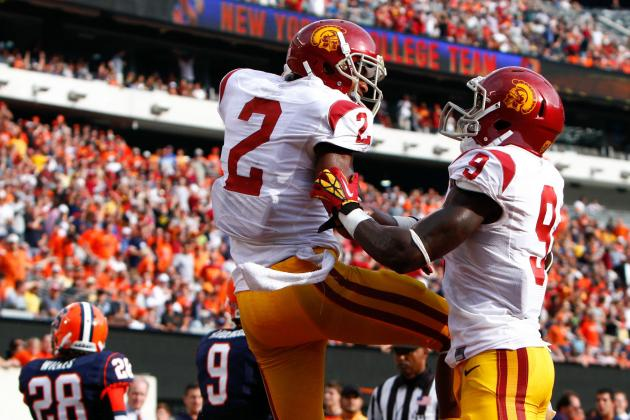 Robert Woods and Marqise Lee: Are USC's Receivers Best-Ever Duo?