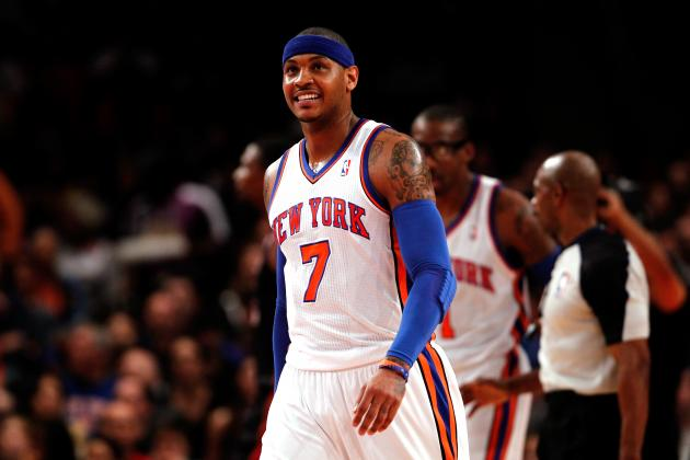 Why Carmelo Anthony Is the 2012-13 Season's Version of LeBron James