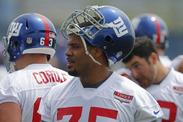 Giants' Tom Coughlin Says 'No Change' at Left Tackle at This Point