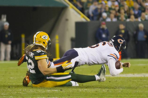 Chicago Bears: Jay Cutler and Offensive Line Take Step Backwards Against Packers