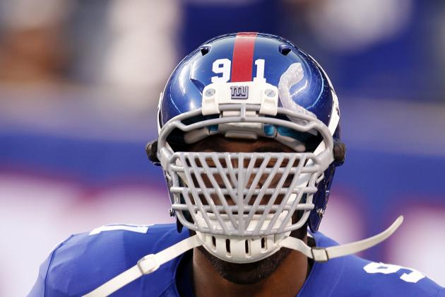 Justin Tuck Says Young Giants Need to Step Up