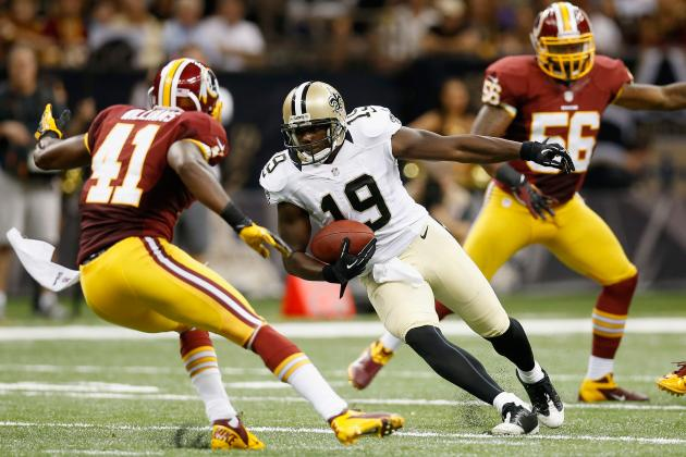 Devery Henderson Injury: Updates on Saints WR Week 2 Status and Fantasy Value