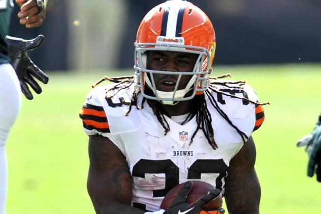 Breaking Down Trent Richardson's Early Form, Tape for the Cleveland Browns